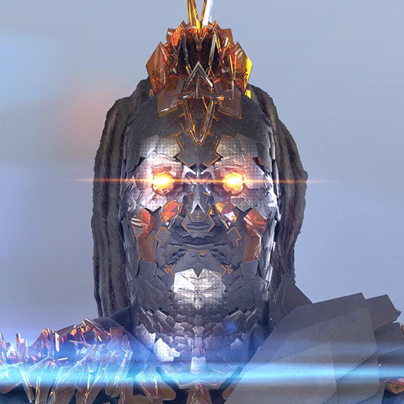 evil general helmet