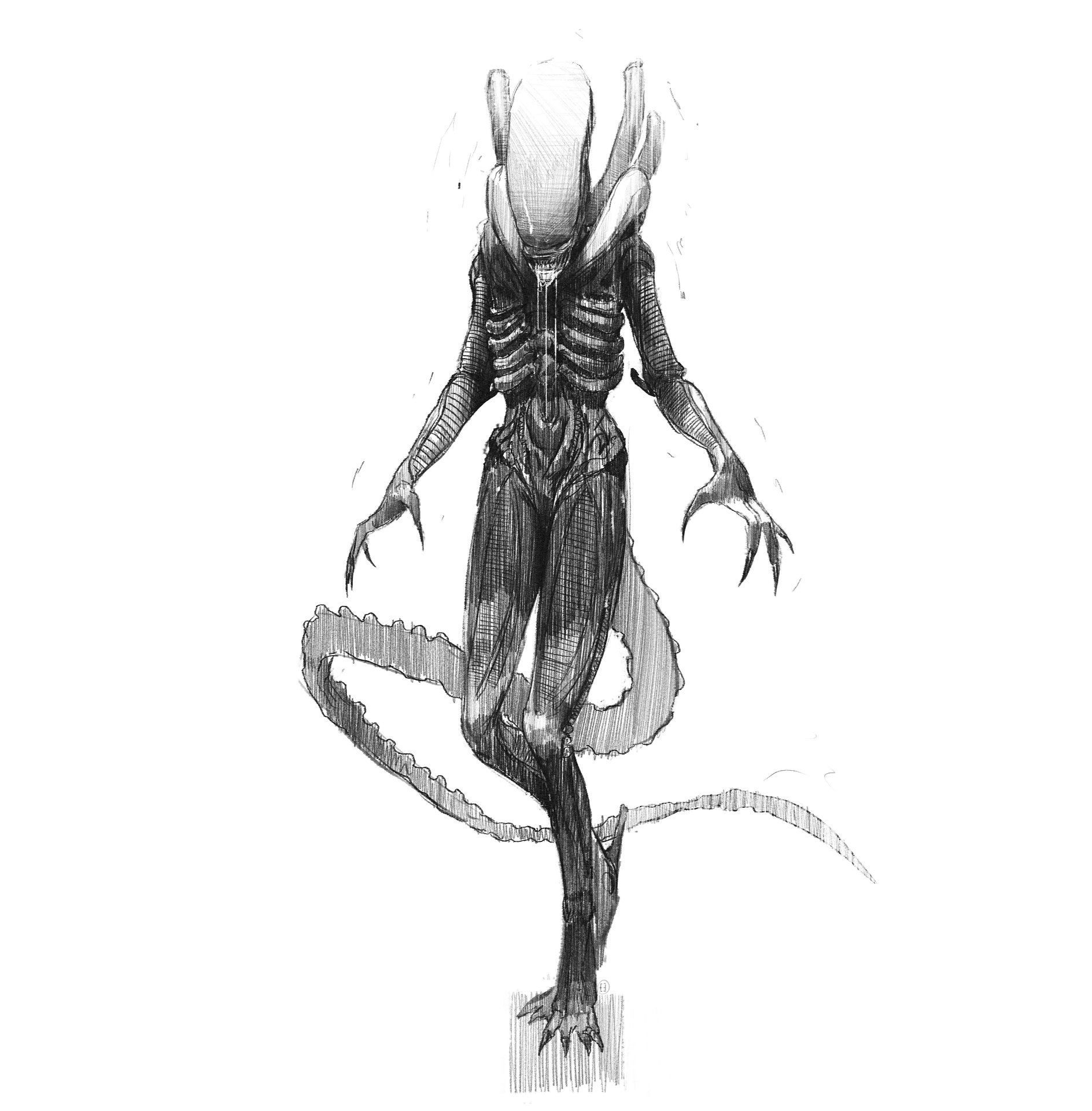 Brad wright alien concepts for book 03