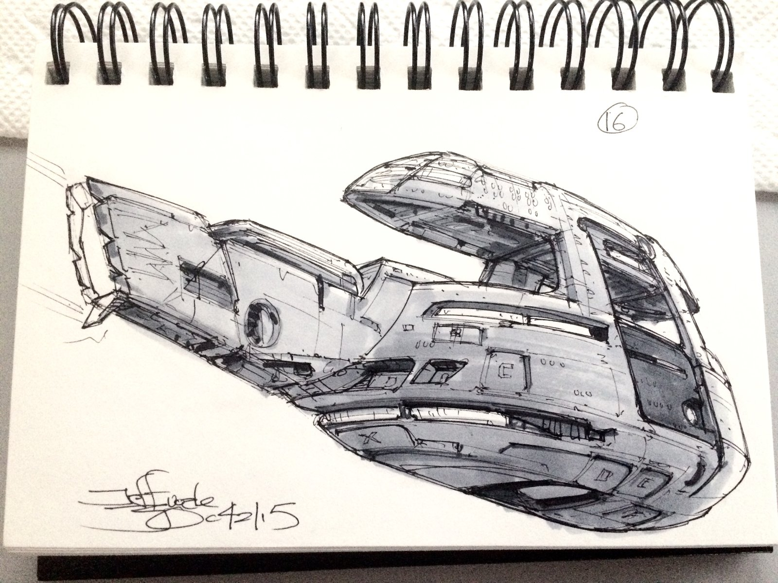 SpaceshipADay 016