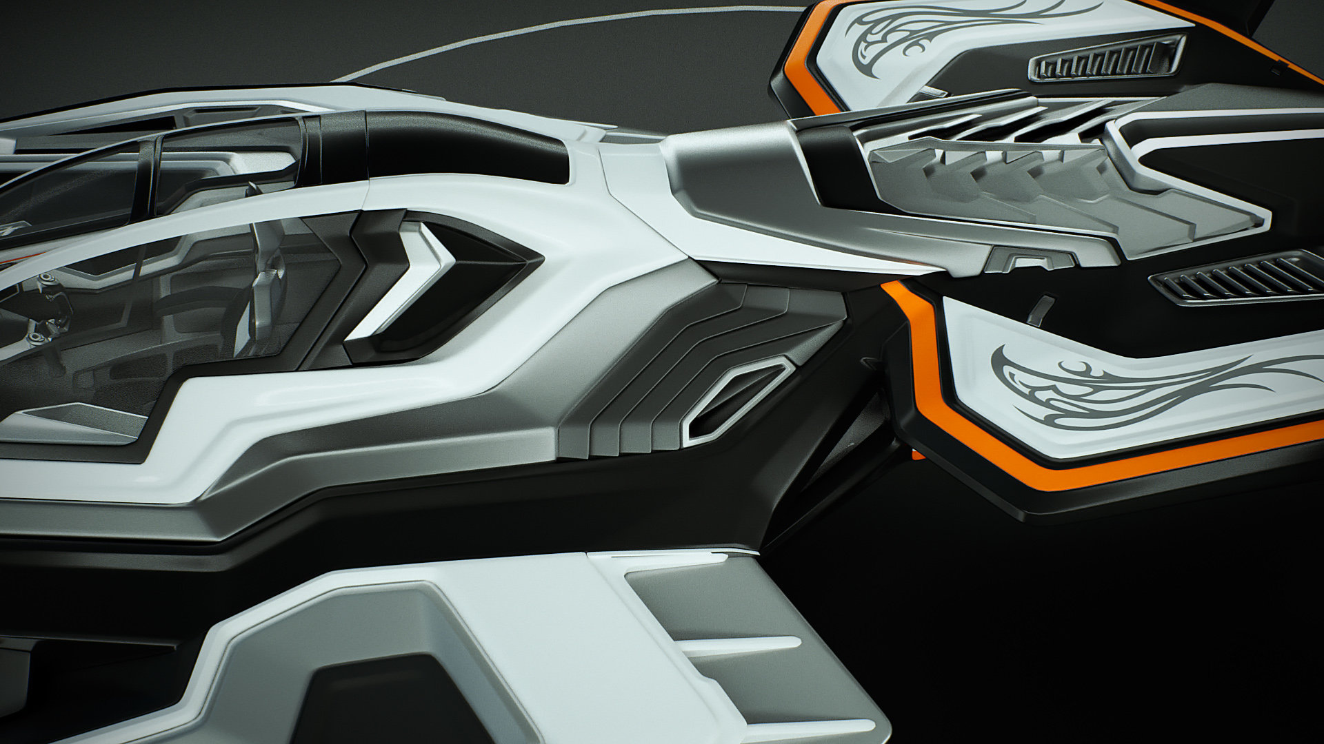 Johan de leenheer 3d spaceship faucer fuga mx230e 13