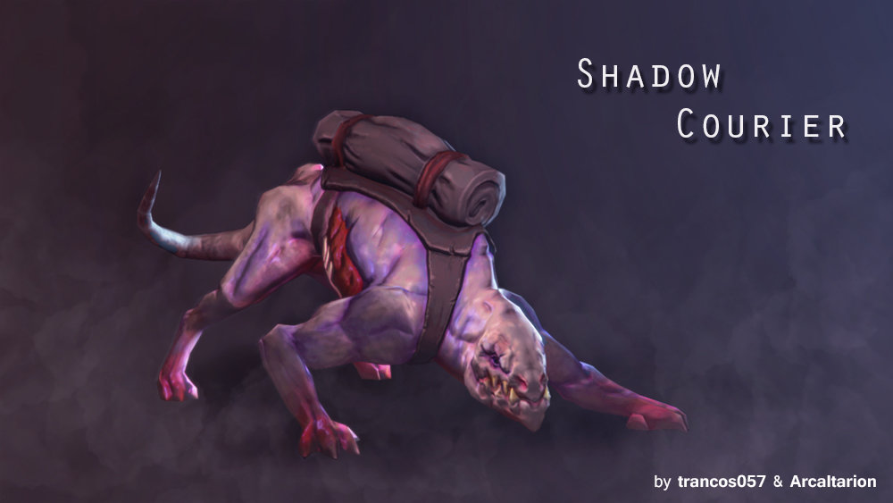 Shadow Courier - Dota2
