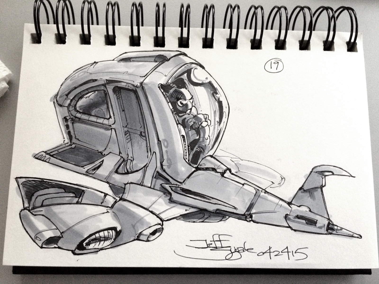 SpaceshipADay 019