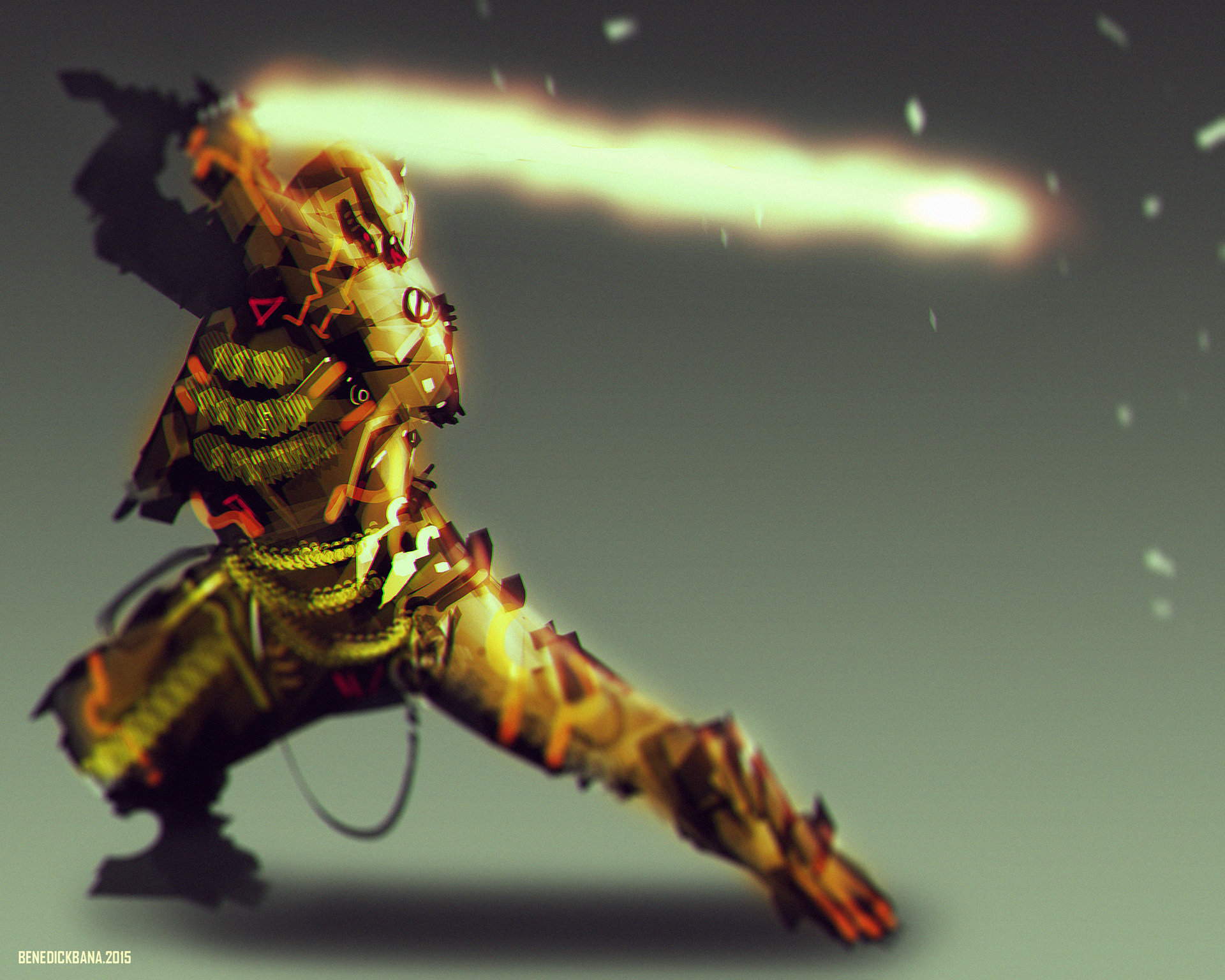 """Scorpion in """"Flame Sword Mode"""" (Cyber Evolution)"""