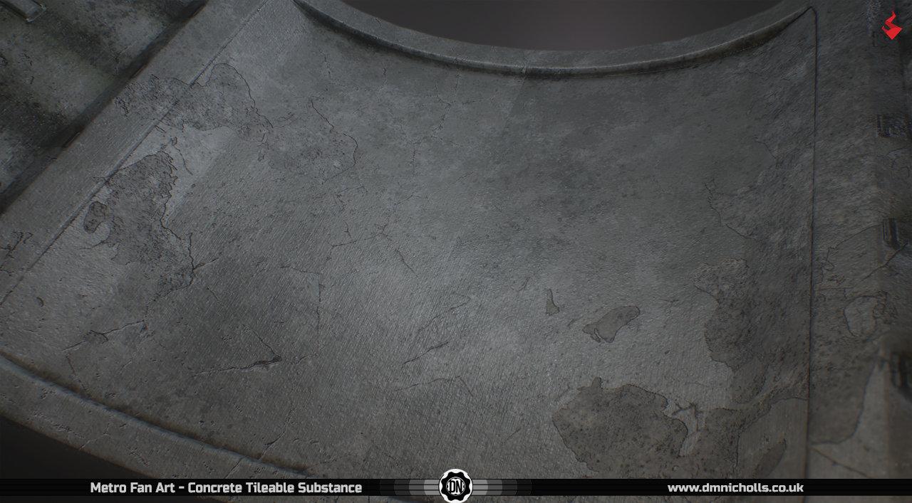 David nicholls metro fan art concrete2
