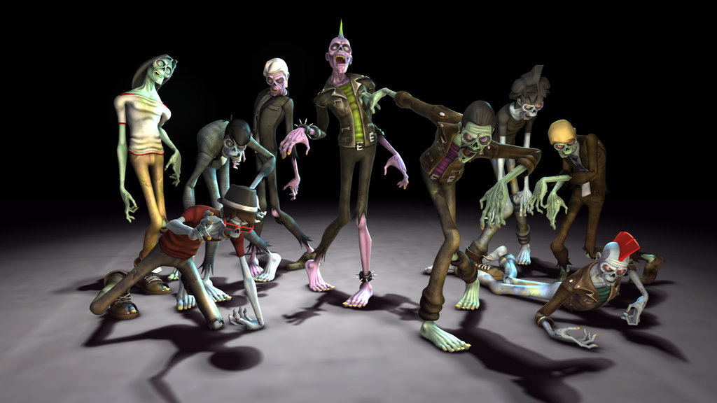 Eddie faria zombies mudpit for teletoon by akasha1x d6p79el
