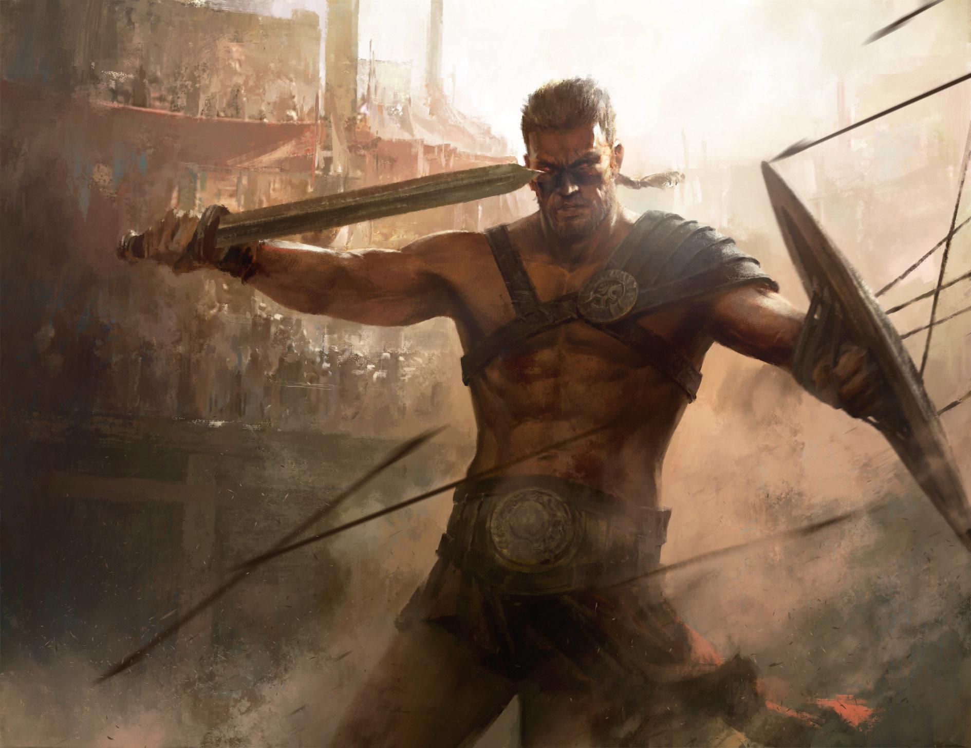 Artstation - Gladiator, Mazert Young-2289