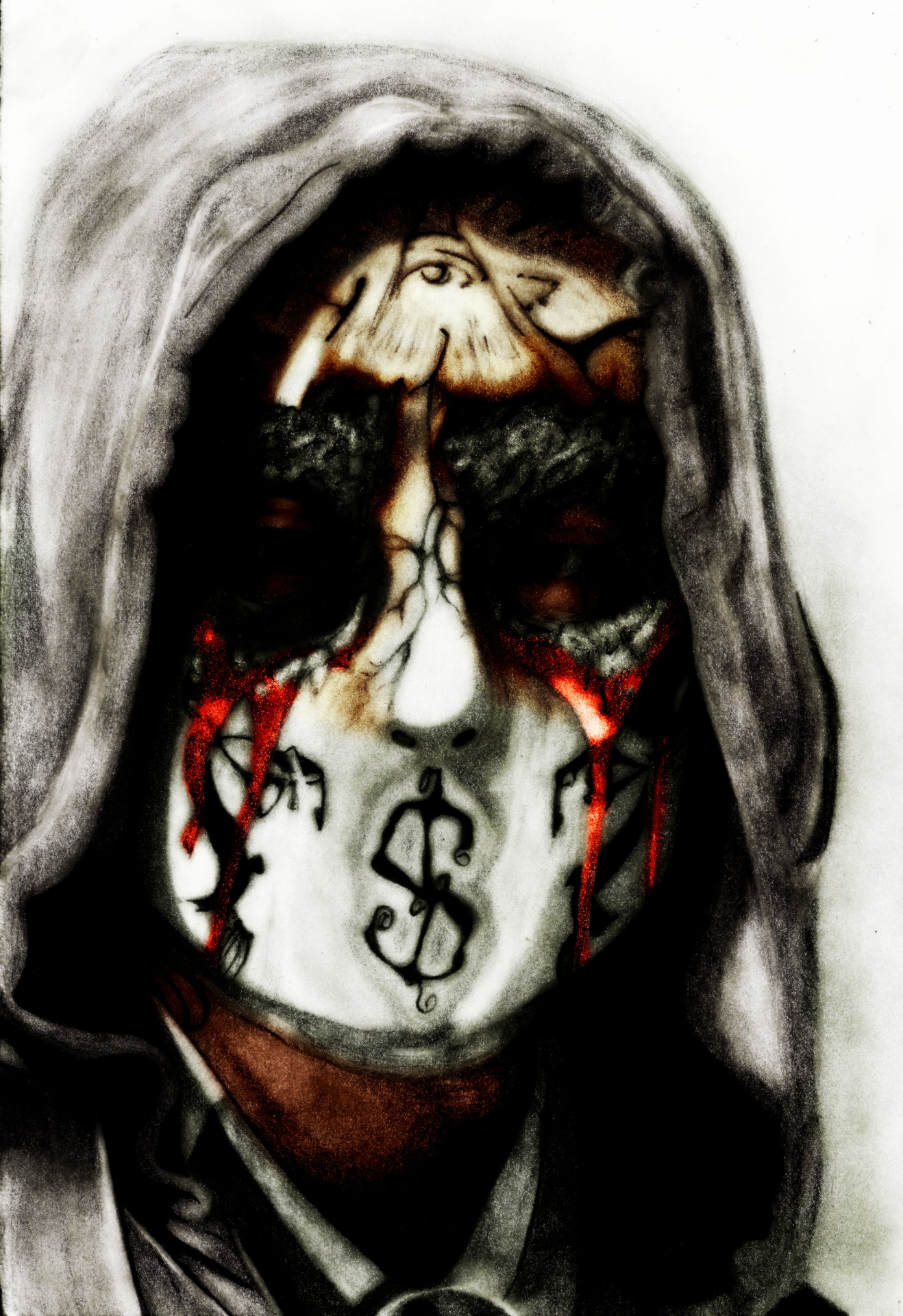 Hollywood Undead J Dog Mask 2013 ArtStation - Hollywood...