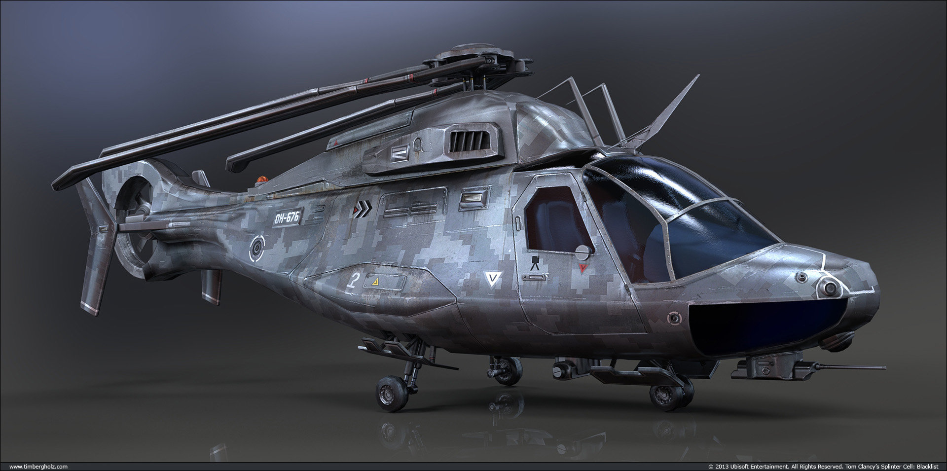 Tim bergholz scout helicopter