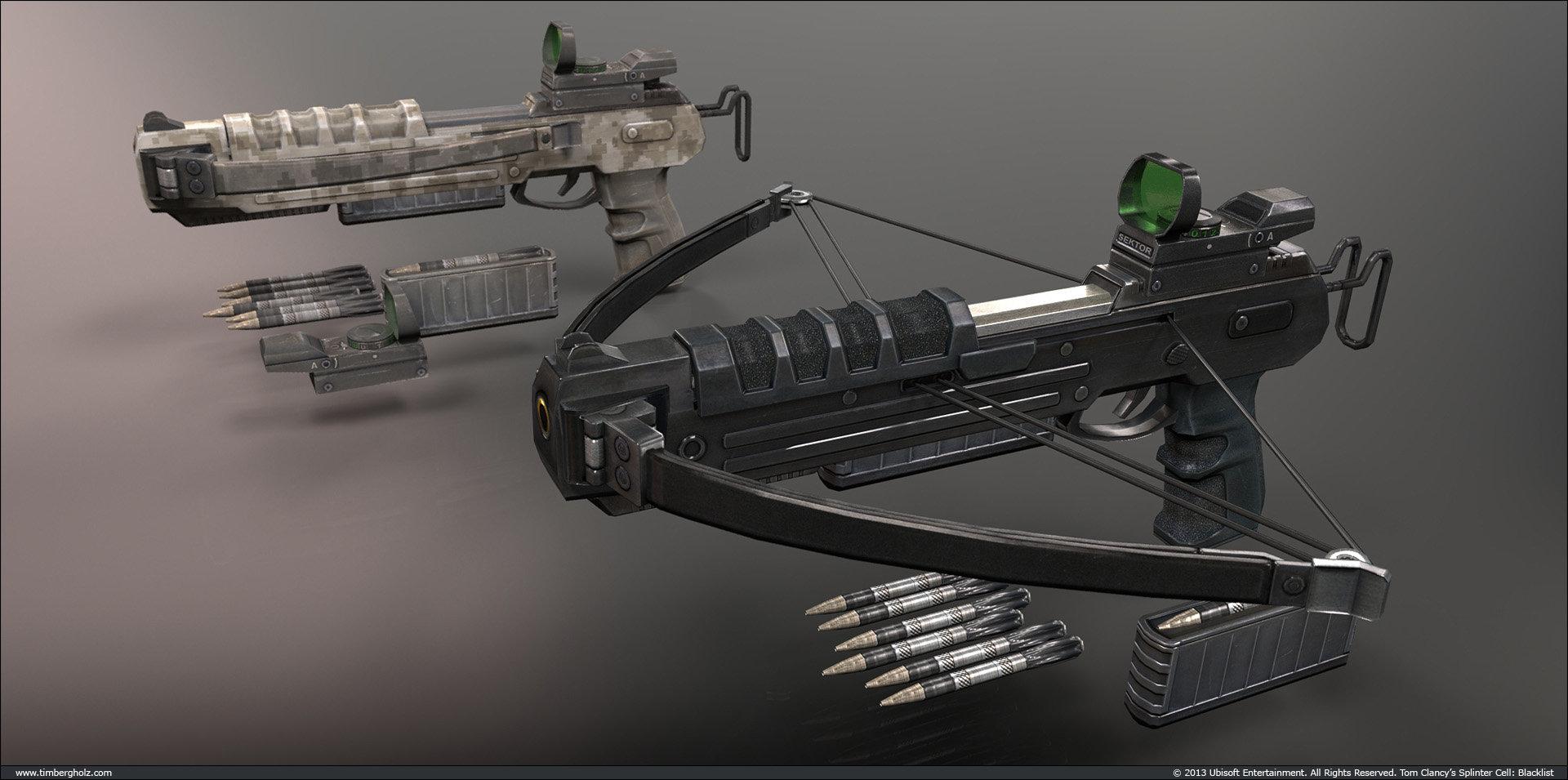 Tim bergholz crossbow pistol
