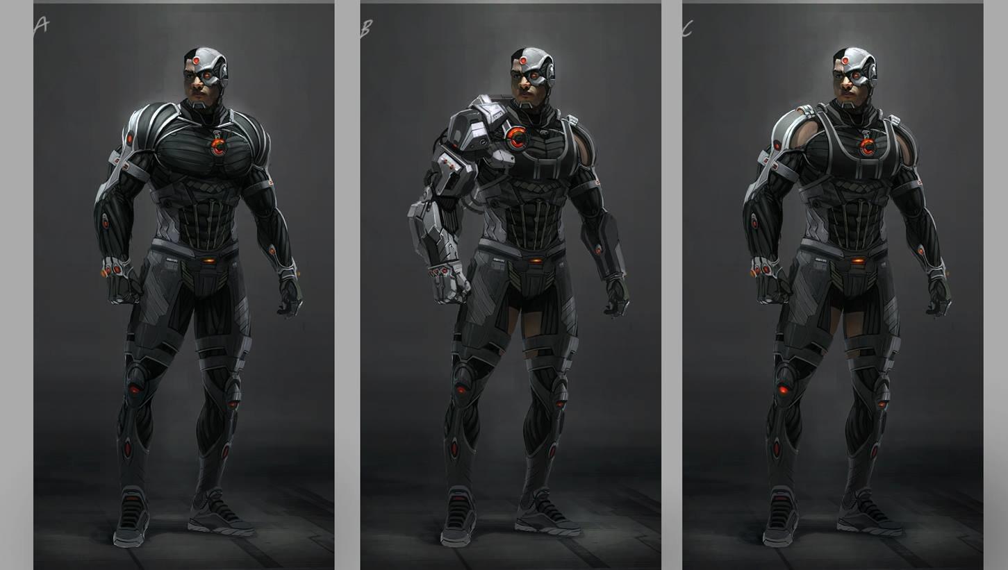 Lewis Fischer Batman V Superman Cyborg