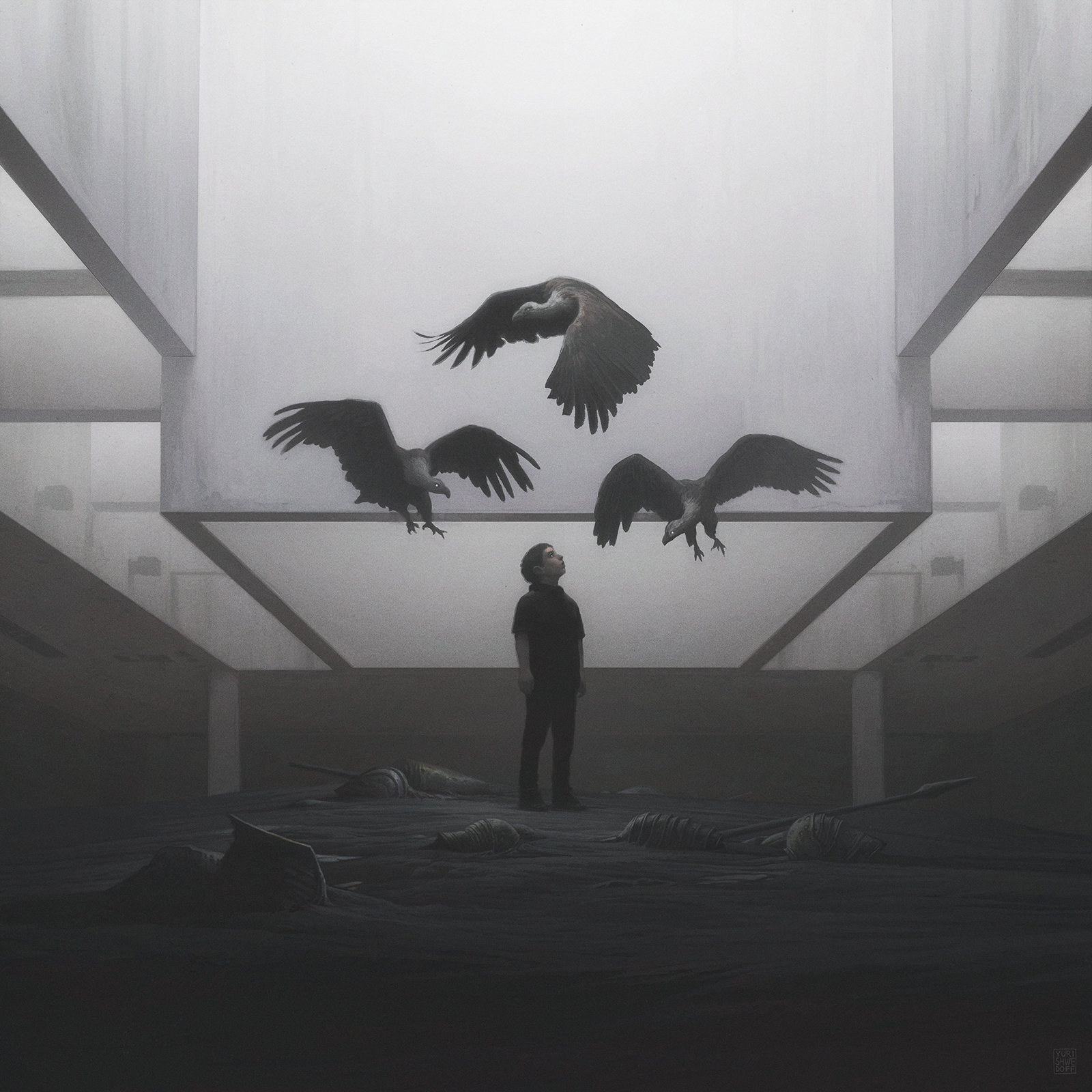 [Reflexion] Les oeuvres qui vous inspirent - Page 2 Yuri-shwedoff-vultures