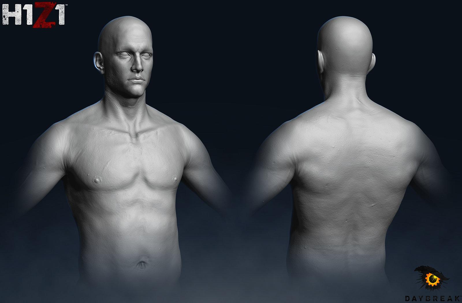 Satoshi arakawa male torso