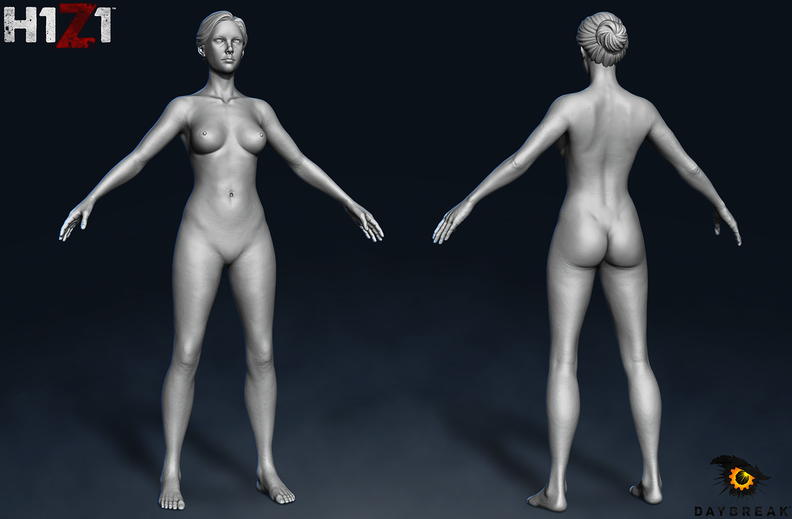H1Z1 Human Female Sculpt