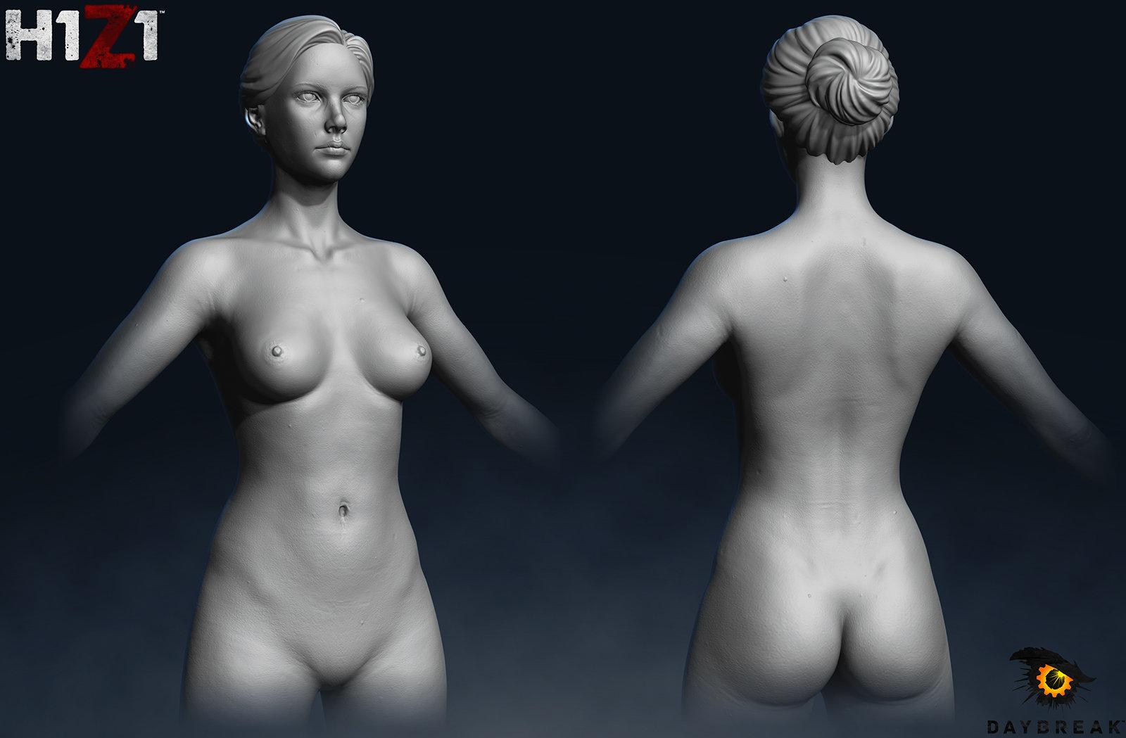 Satoshi arakawa female torso
