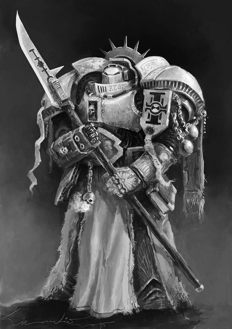 Grey Knight, personal work