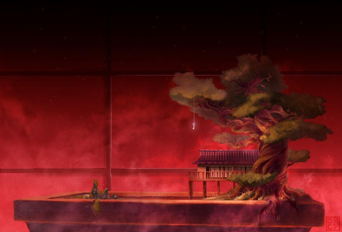 Bonsai from a dream.