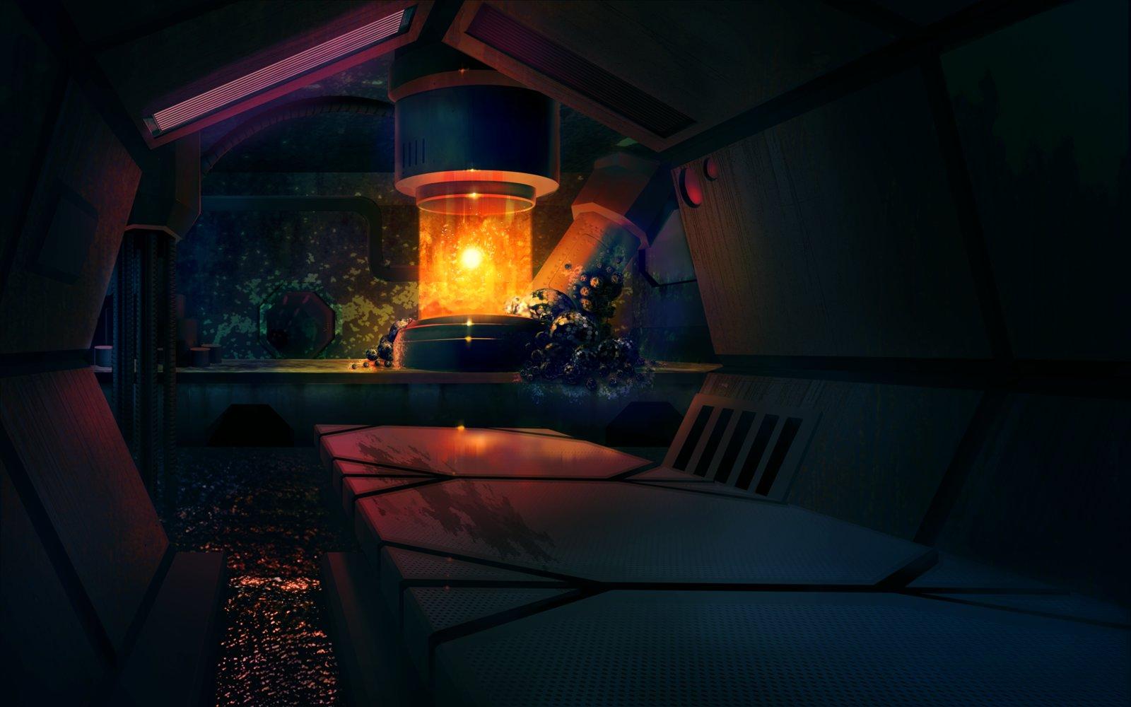 Early interior concept.
