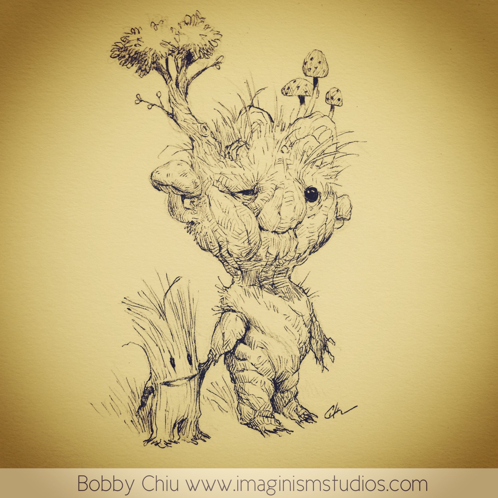 Bobby chiu forest friends by imaginism d72ym91