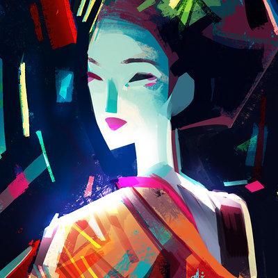 Ellie yong geisha