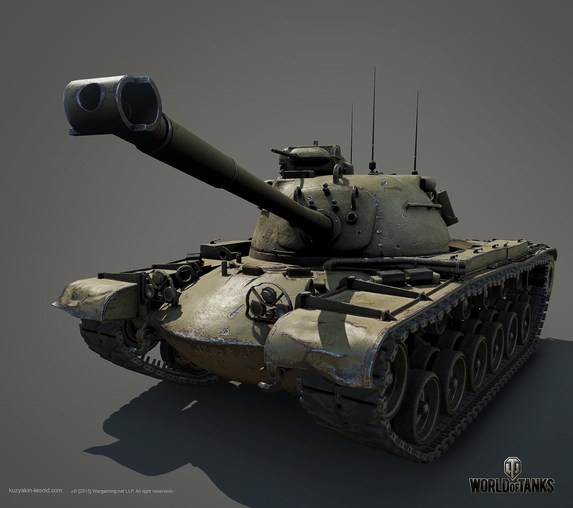 Leonid kuzyakin patton m48a1 05