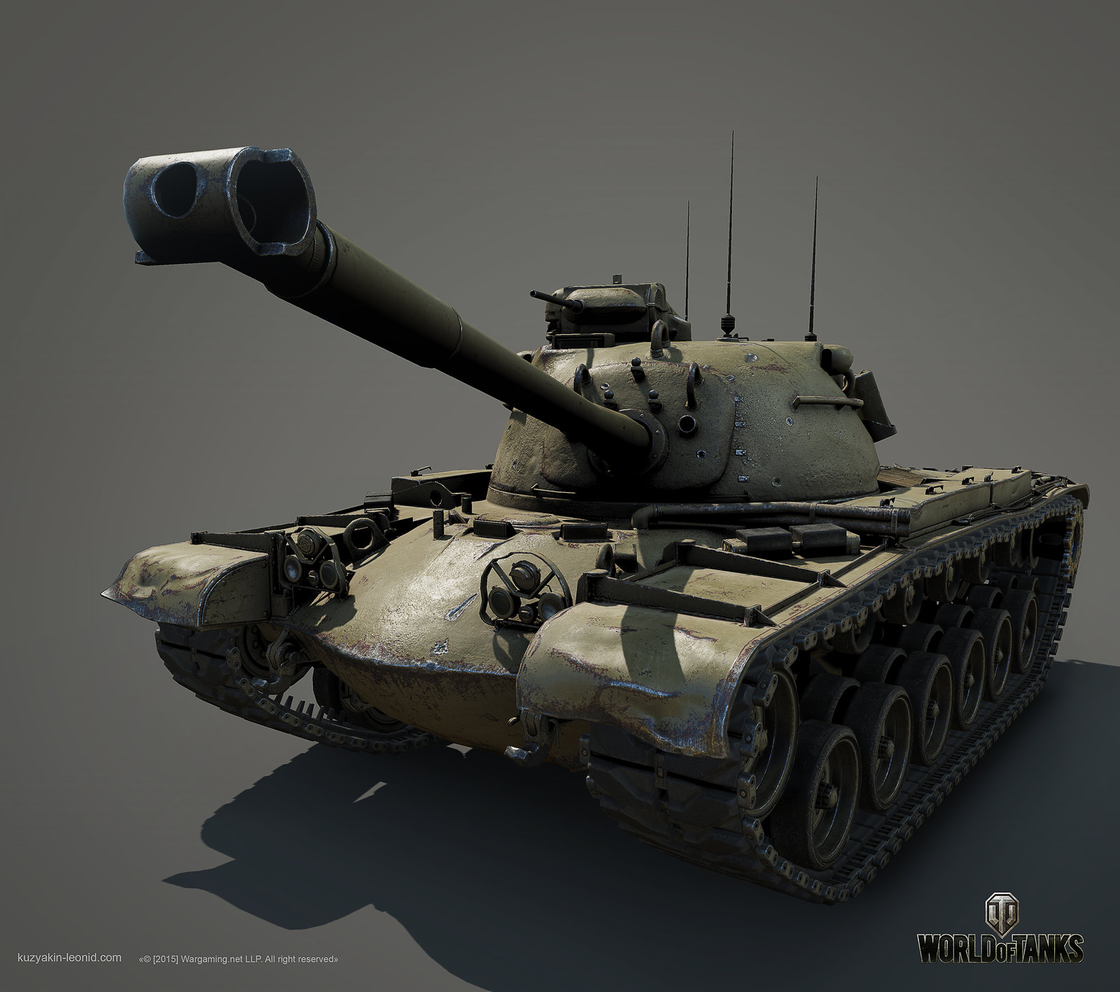 M48A1 Patton Main battle tank