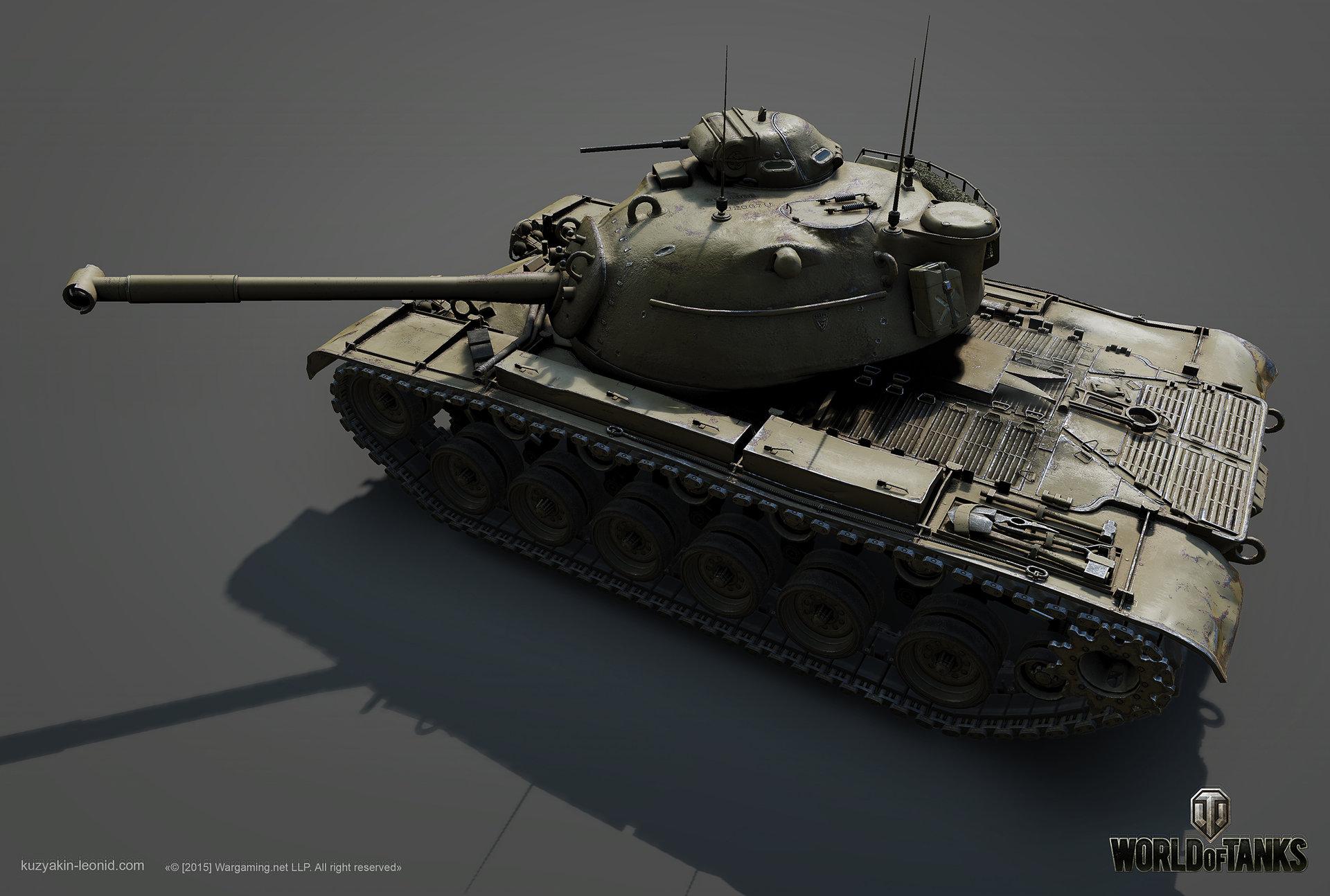 Leonid kuzyakin patton m48a1 02