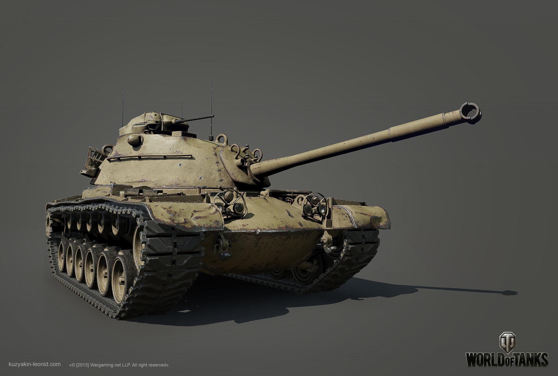 Leonid kuzyakin patton m48a1 01