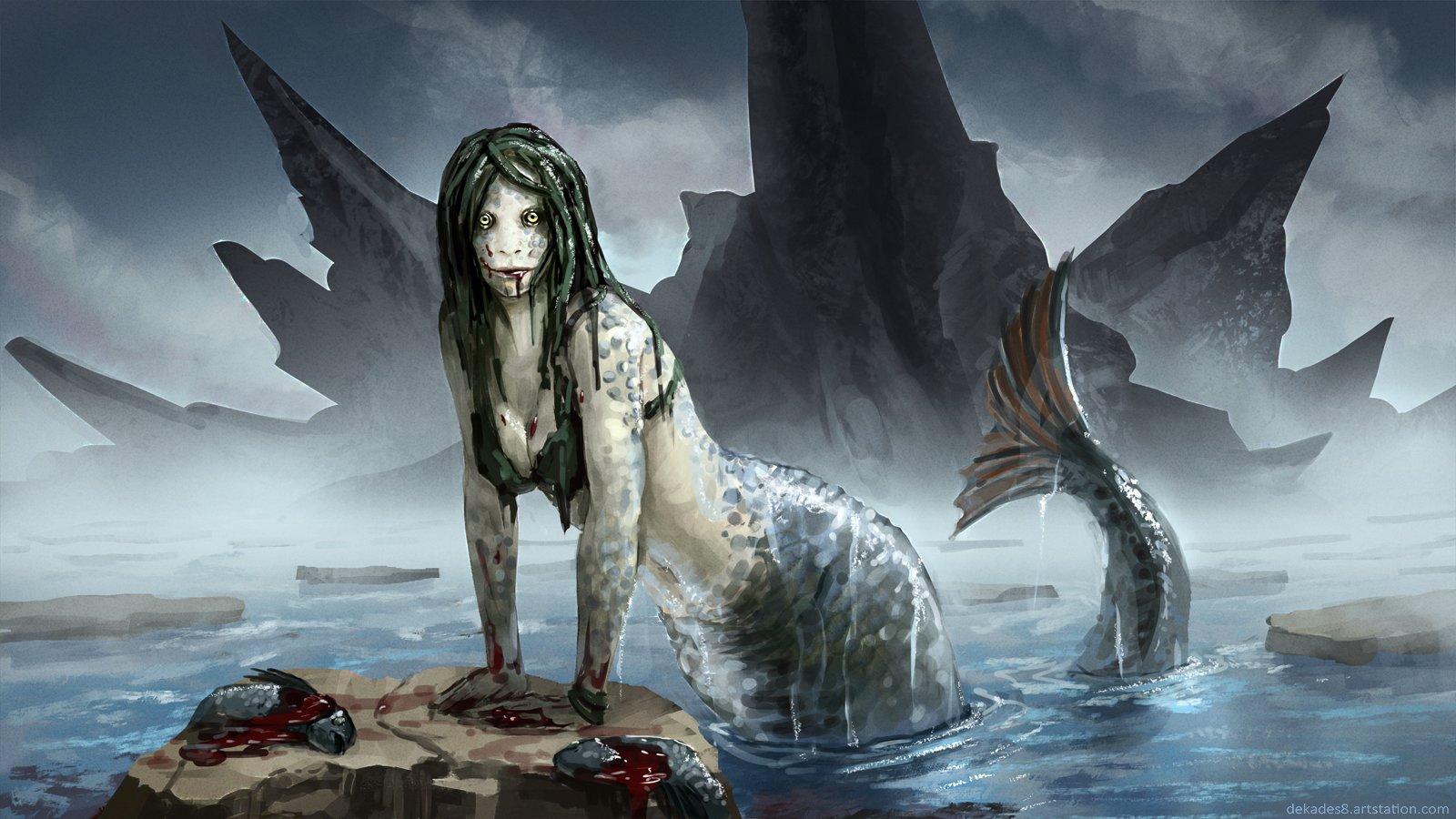 Dmitry desyatov mermaid 2