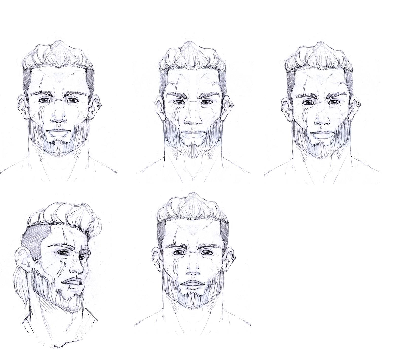 Sergio palomino larsnatue faces
