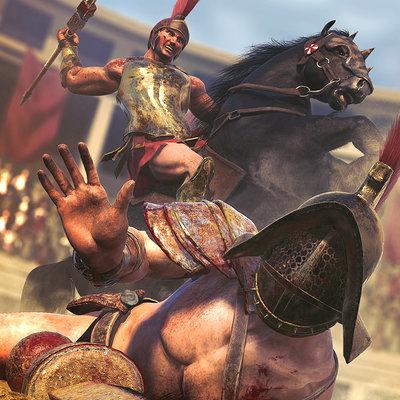Mickael bonfill gladiator500k