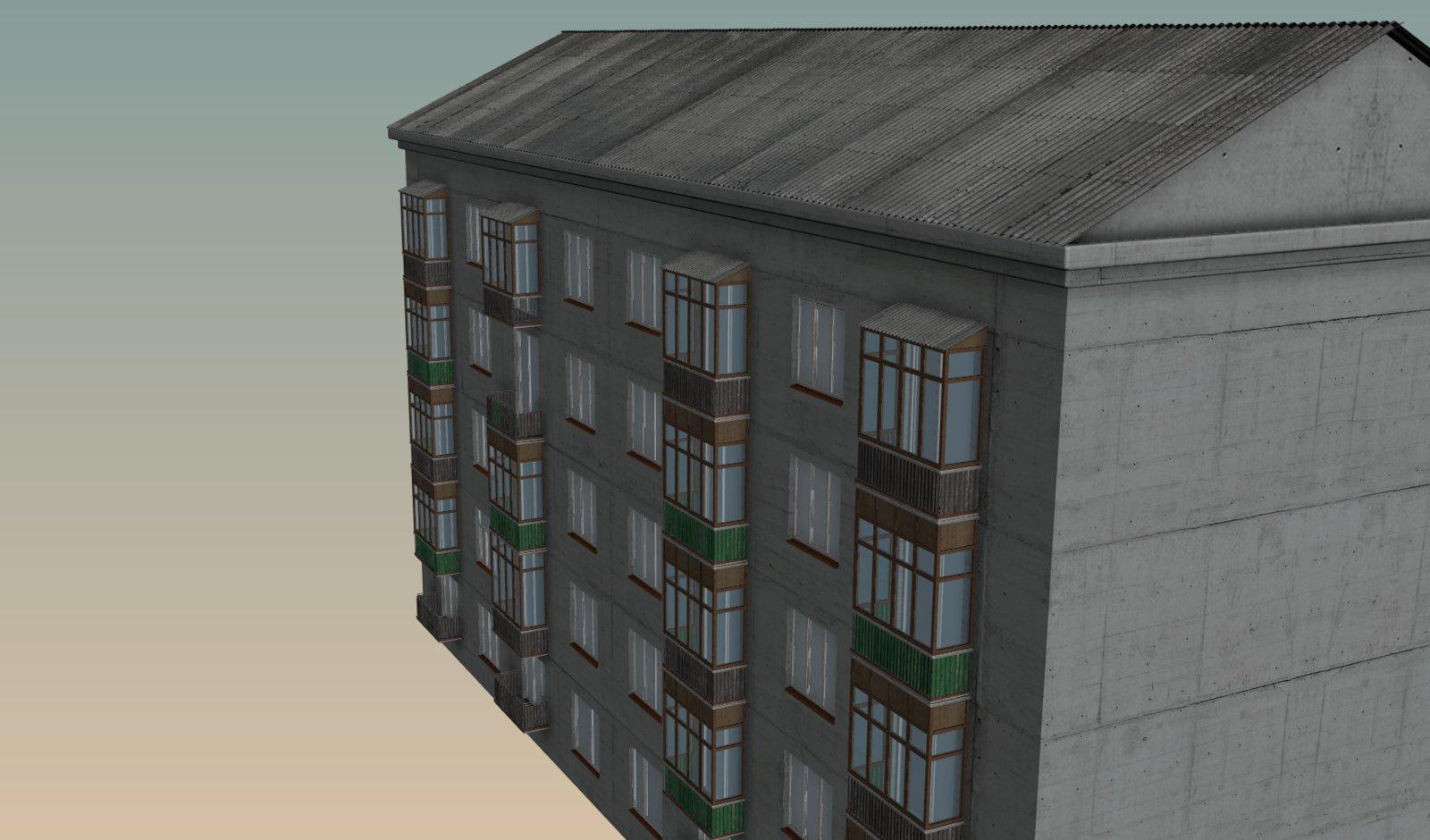 Assets #1: Background Building