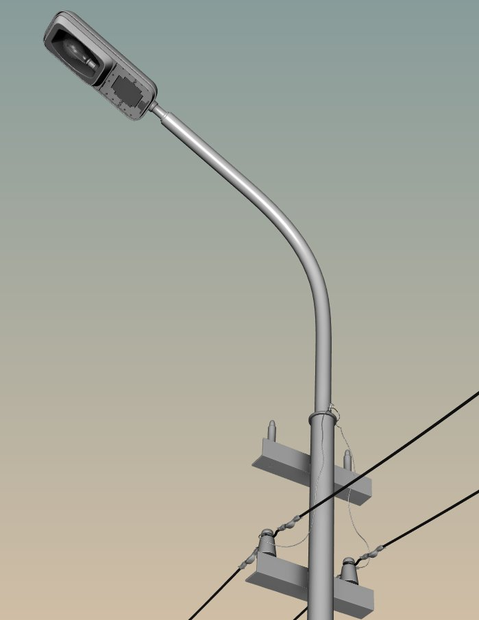 Assets #2: Light Pole