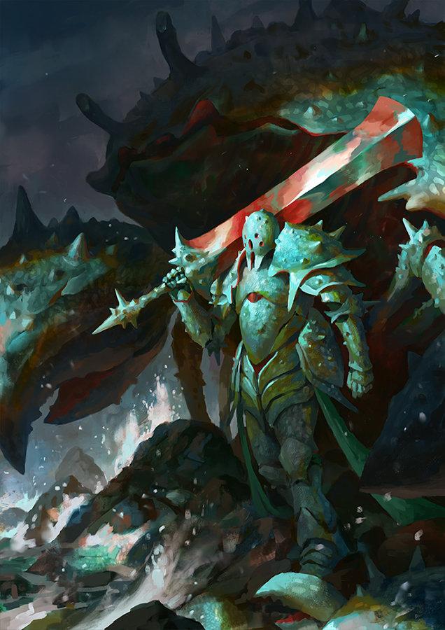 Veli nystrom crustacean warrior wip5