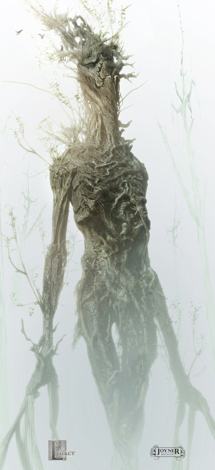 Tree Beings Concept for Snow White and the Huntsman