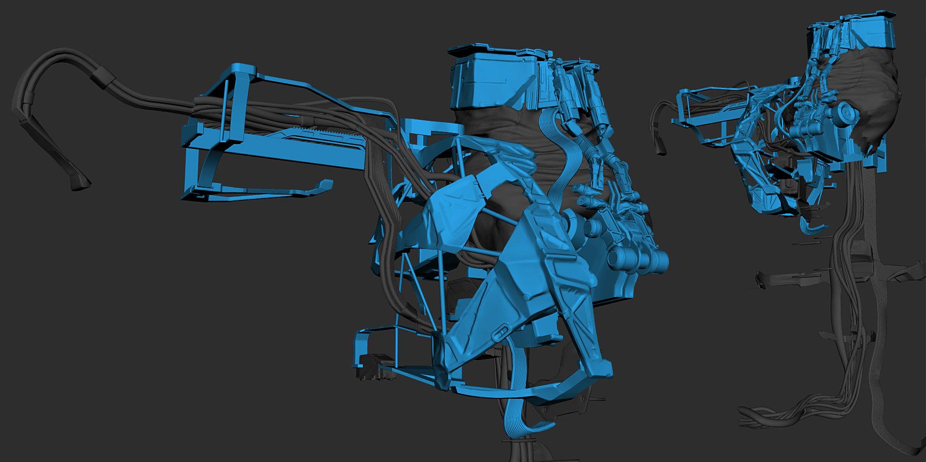 Romain chauliac assembly of parts