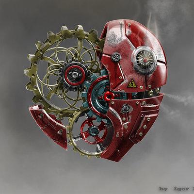 Igor puskaric mecha heart by pukey82 d4romk0