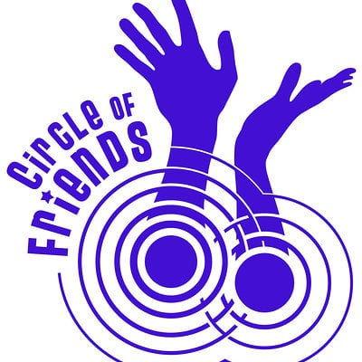 Anthony m grimaldi circle of friends logo 2
