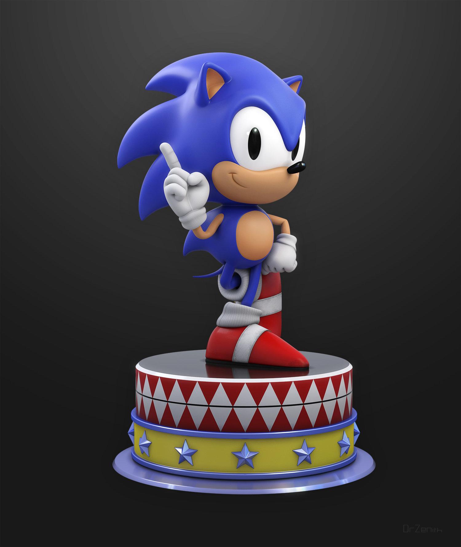 Artstation Sonic The Hedgehog Doc Zenith
