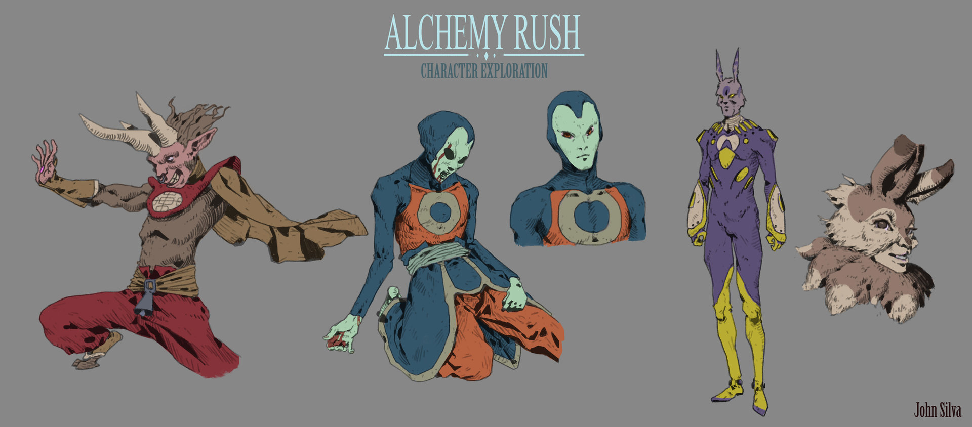 John silva alchemy rush character exploration 1