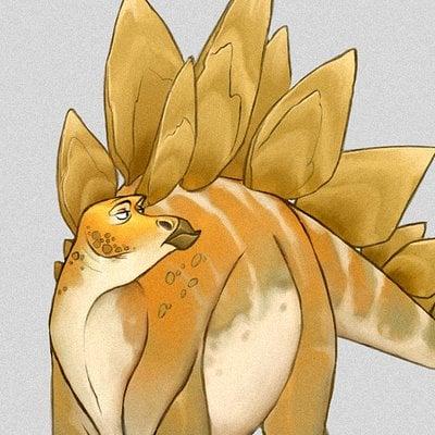 Alberto camara stegosauruscolor