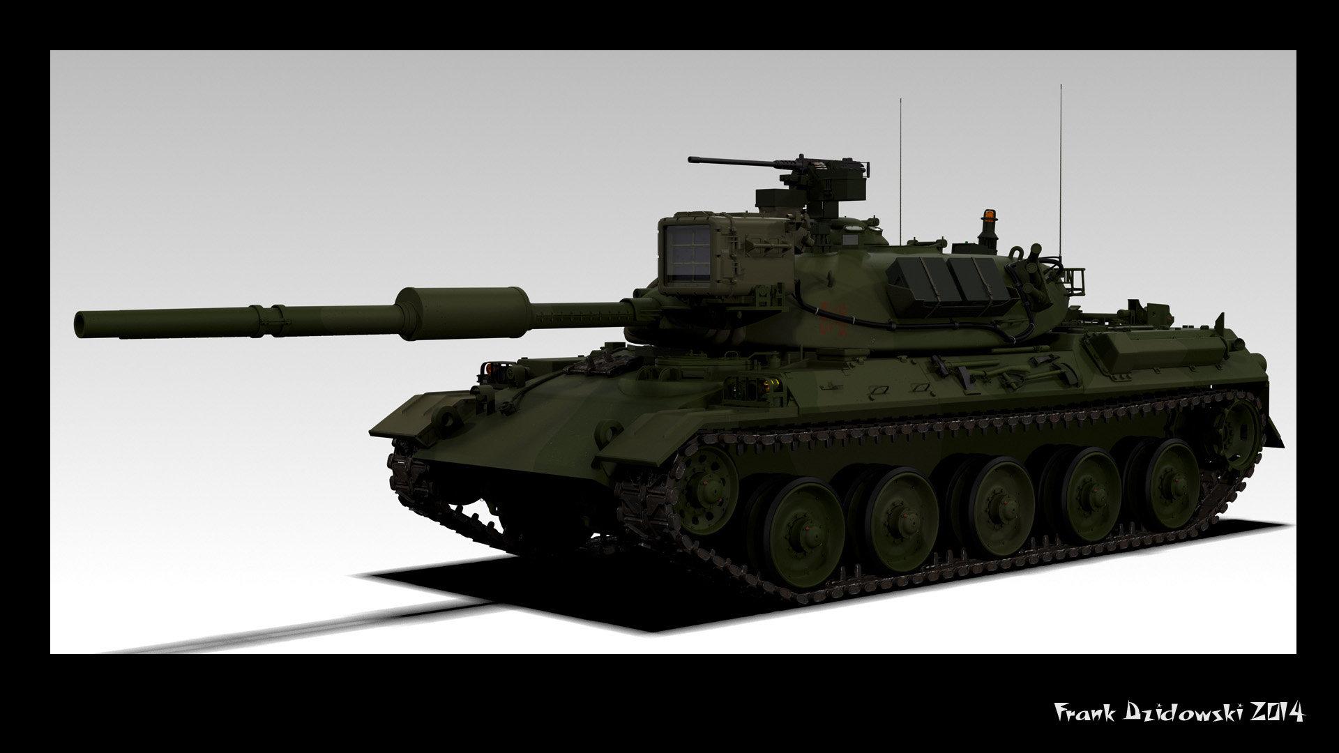 Frank dzidowski type 74 v testm v048