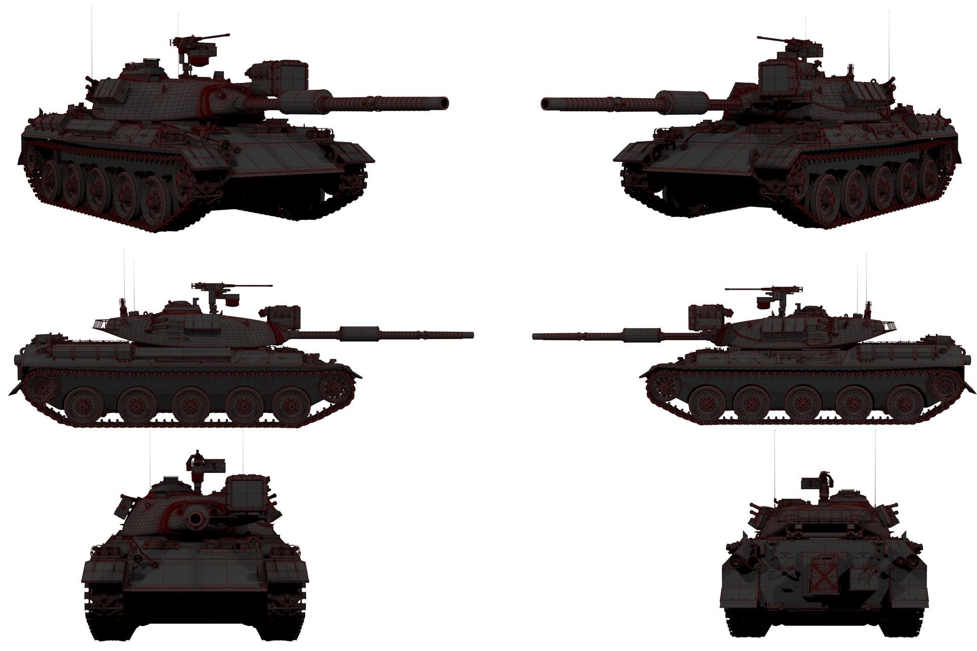 Frank dzidowski tank wip v004
