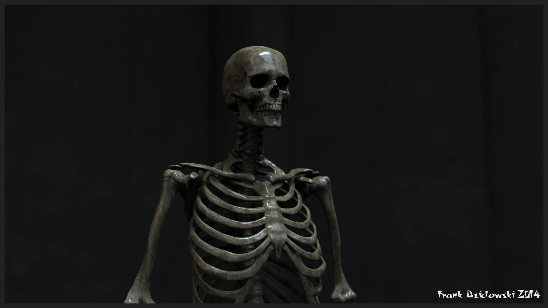 Skeletone Render test