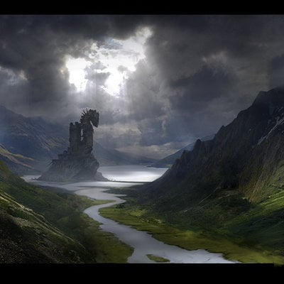 Alessandro taini matte painting final