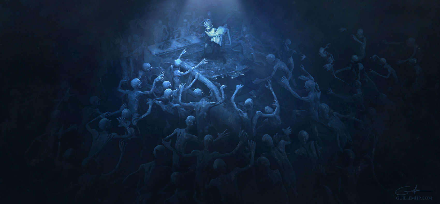 Guillem h pongiluppi guillemhp zombies and the kids