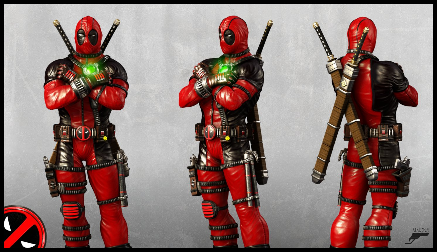 Marc mons deadpool render views