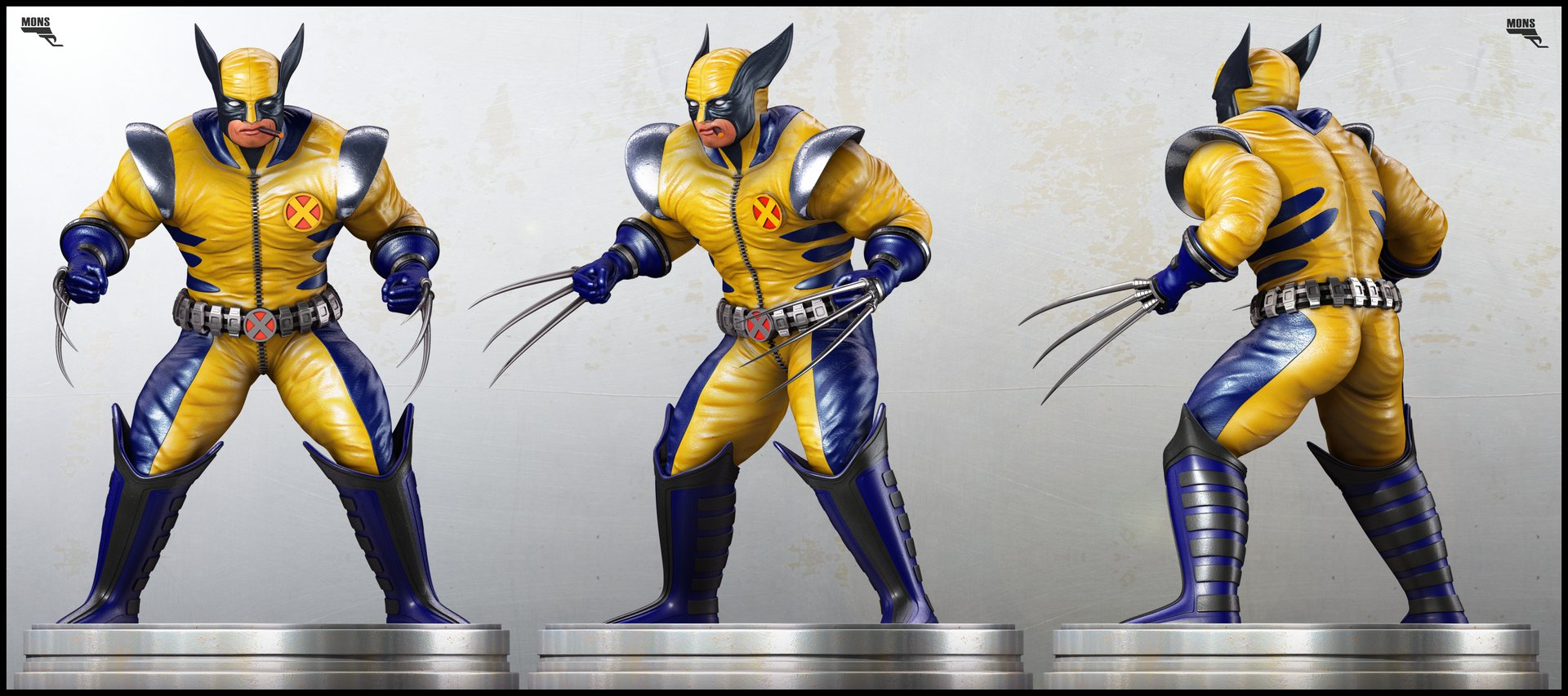 Marc mons wolverine render views