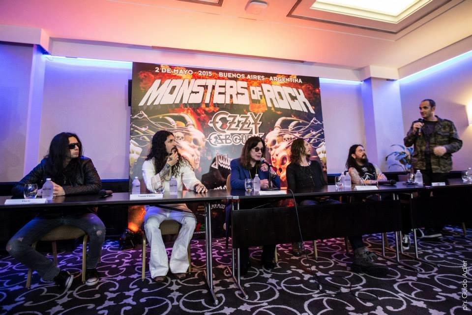 Mark van haitsma monsters of rock buenos aires 5