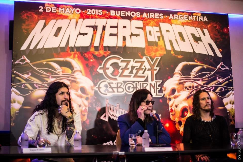 Mark van haitsma monsters of rock buenos aires 6
