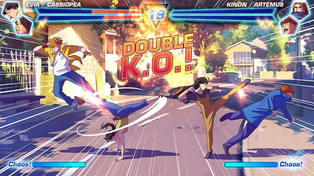 Fake fighting game